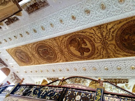 Ceiling with the masterpeices of Botong Francisco