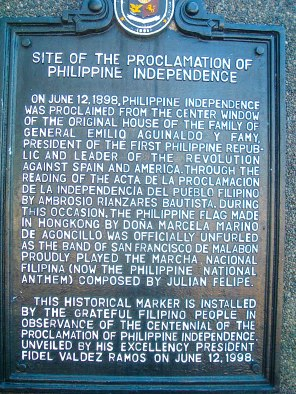 Proclamation Marker