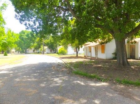Abandon cottages