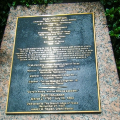 Memorial to Sam Houston