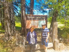 Camp Trail sign