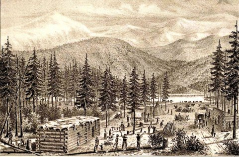 DonnerParty-camp-drawing