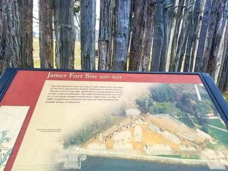James Fort site