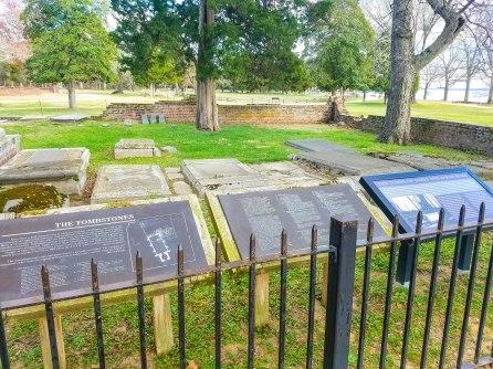 Graveyard behind the church