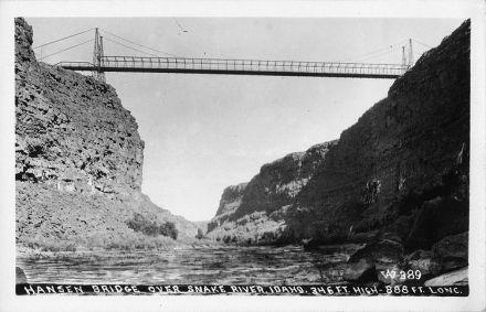 Hansen Suspension Bridge