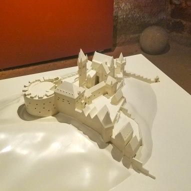 Original structure of the castle