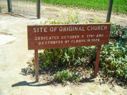 Site of original church