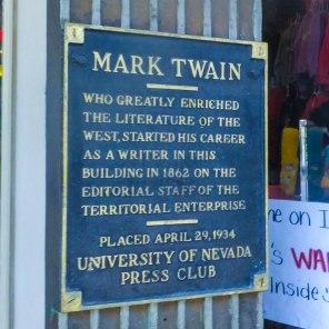 Mark Twain's Marker