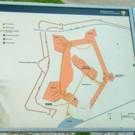 Map of the fort