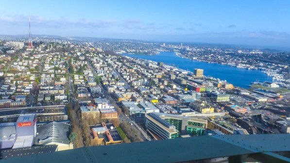 View from the top of the needle