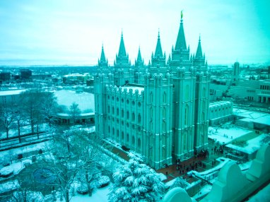 from the Joseph Smith building