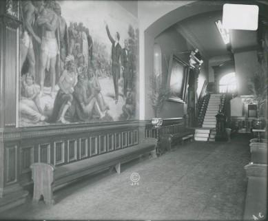 Mural in the corridor