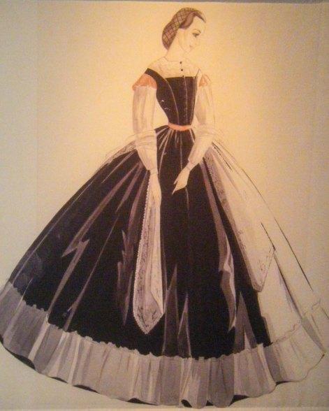 Melanie's dress
