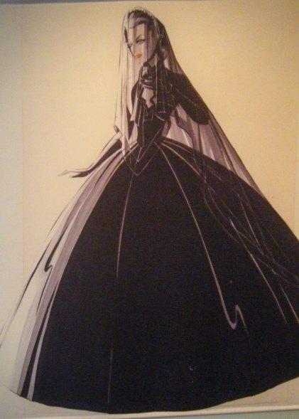 Scarlett's mourning dress