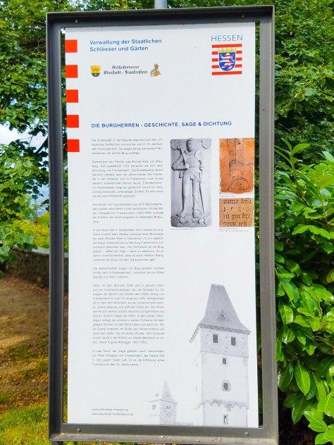 Info about Burg Frankenstein
