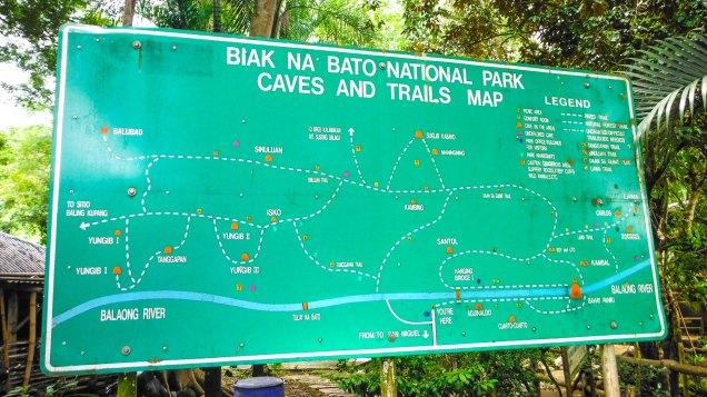 Map of Biak na Bato