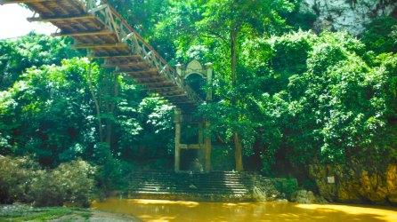 The hanging bridge