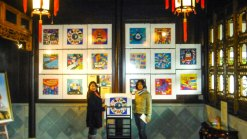The paintings for sale