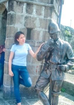 Reina with the Guardia Civil